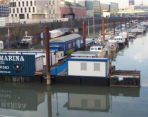 Köln Marina Rheinauhafen