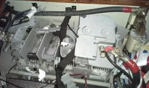 AGM-batteriet exploderade