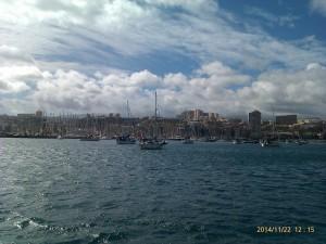 Svajankring i Las Palmas