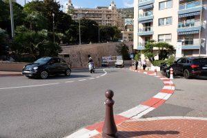 Formel1 bana i Monaco