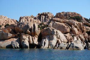 Mer stenkust - nu på franska sidan, Isla Lavezzi.