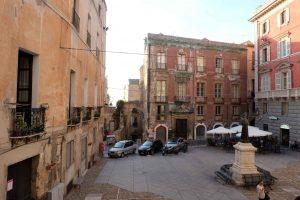 Cagliari - lite slitet men charmigt.