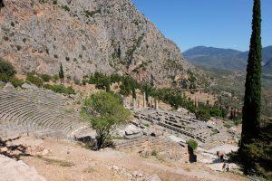 Teater och Apollons tempel